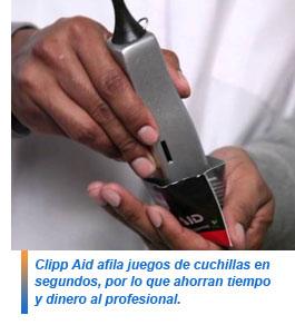 Clipp Aid, cristales para afilar máquinas de corte