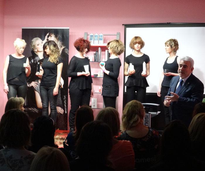 Framesi presenta en Gij�n y Santander las nuevas colecciones primavera-verano 2015.
