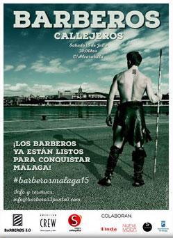 Málaga se prepara para recibir una nueva edición de Barberos Callejeros