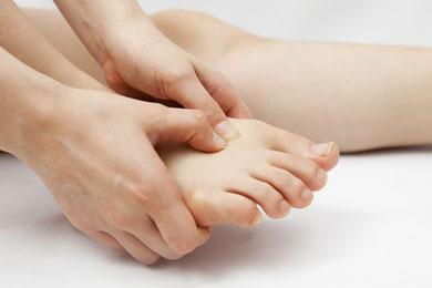 Pies y piernas saludables