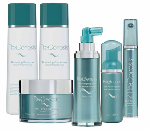 Llega <i>Regenesis Hair Enhancing System</i>, línea capilar antiedad made in USA