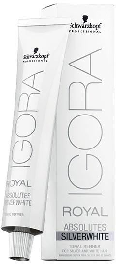 Los tonos de Igora Royal Absolutes Silverwhite para un pelo gris perfecto