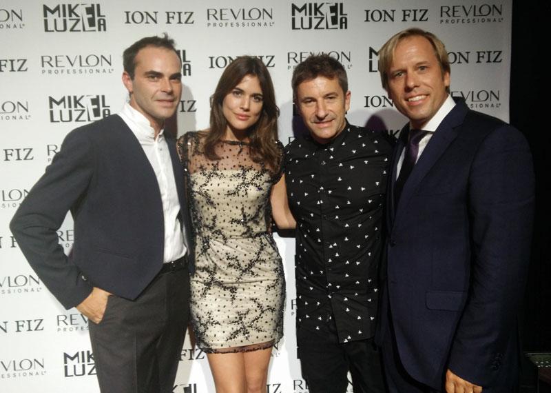 Ion Fiz y Mikel Luzea desfilan en París apoyados por Revlon Professional