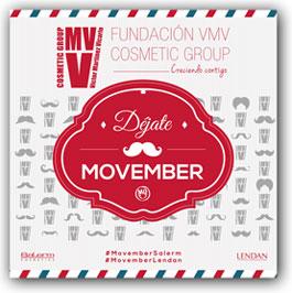 La Fundación VMV Cosmetic Group dona dinero por bigote