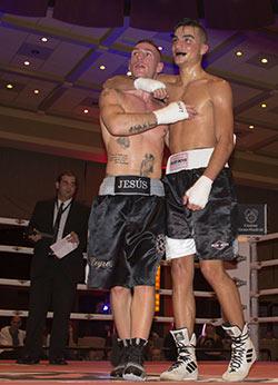 I.C.O.N., presente en la fiesta del boxeo