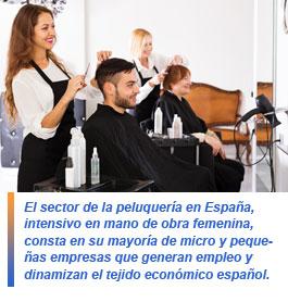 El negocio de las peluquerías
