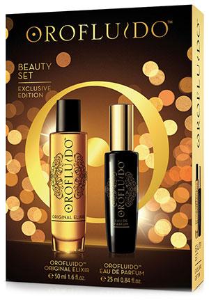 Conoce los nuevos Christmas Beauty Sets de Oro Fluido, de edición limitada