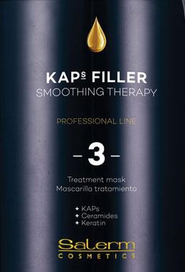 Kaps Filler, tecnología que devuelve sus propiedades iniciales al cabello