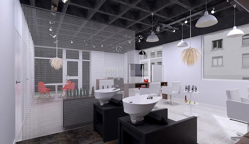 Amabilia nuevo concepto en mobiliario equipamiento y for Iluminacion para peluquerias