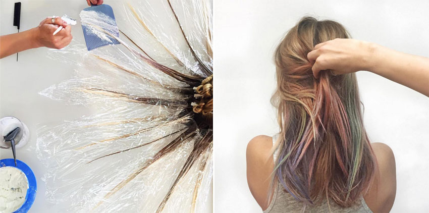 Fluid hair painting la ltima tendencia en coloraci n del for Fluid hair painting