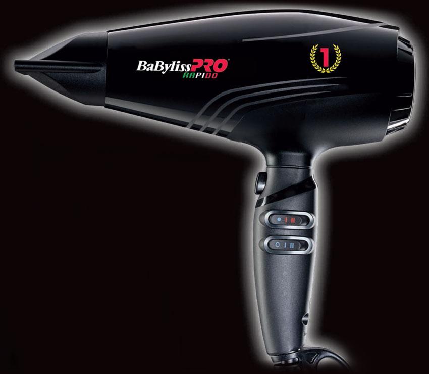 Descubre, de manos de BaByliss Pro, el secador profesional ultraligero