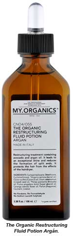 The Organic Restructuring Fluid Potion Argán