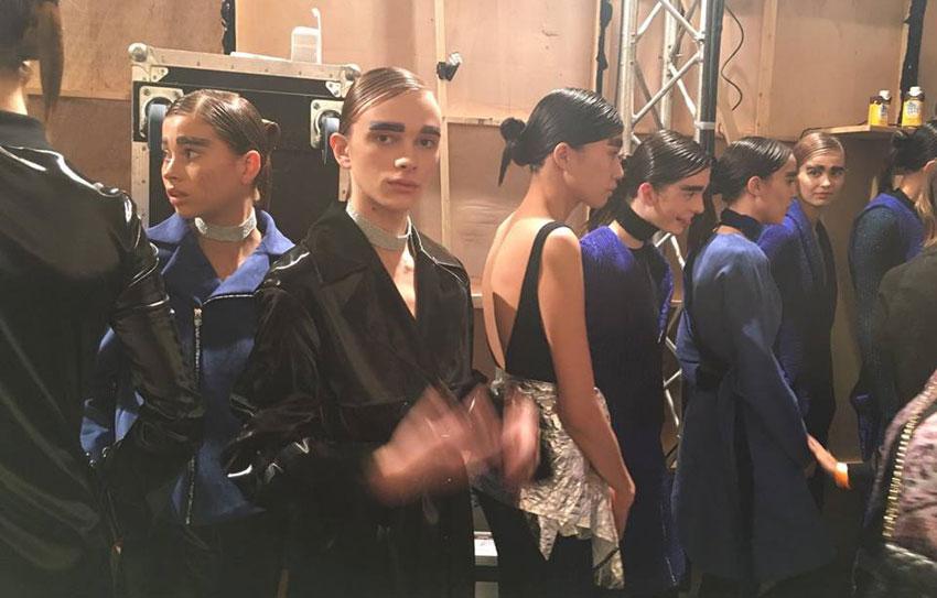 Toni & Guy en la London Fashion Week