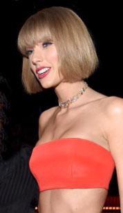 Las claves del corte carré de Taylor Swift, por La Maison Eduardo Sánchez