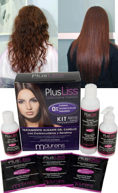 Hasta tres meses de pelo liso con PlusLiss