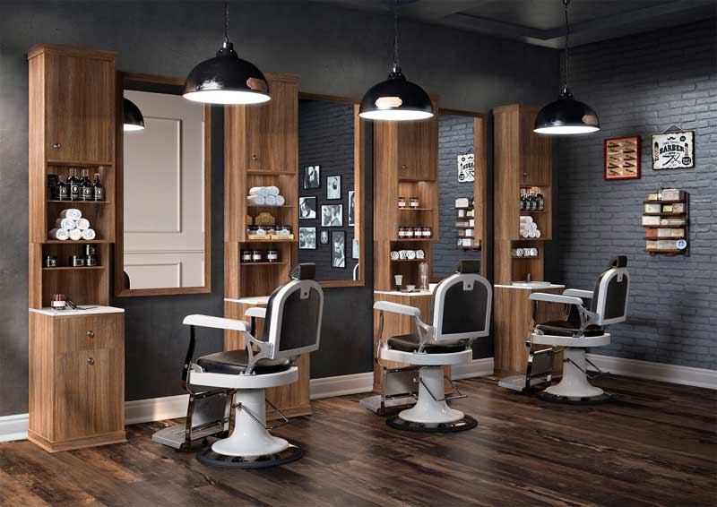 Butaca 5 39 60 el retorno de un cl sico en la barber a for Look 4 design salon