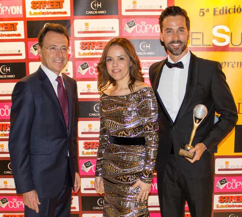 Matias Prat, periodista y presentador; Paula Pereira responsable de comunicación; e Isaac Rubín Rey, 'master coach'.