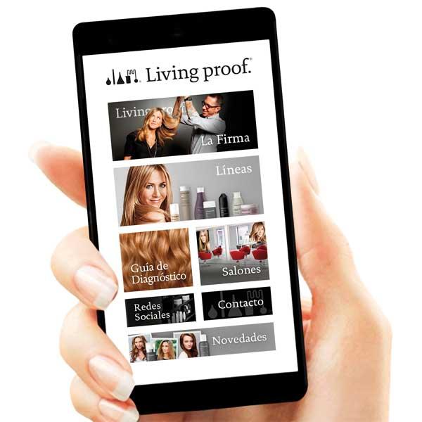 app de Living Proof