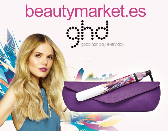 A Beauty Market e a ghd oferecem 6 stylers da ghd platinum tropic sky, edição limitada
