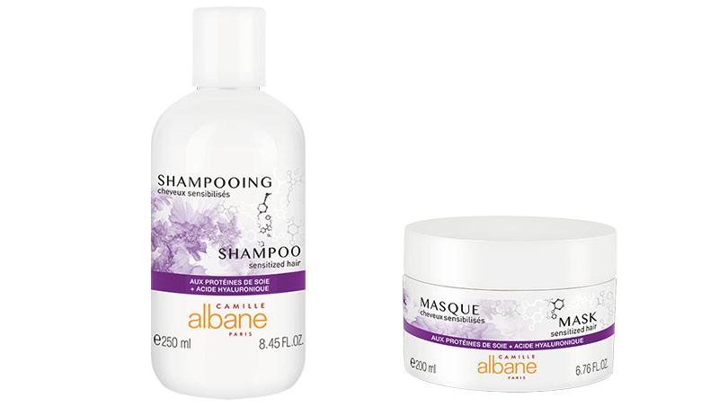 Gama para cabellos sensibilizados