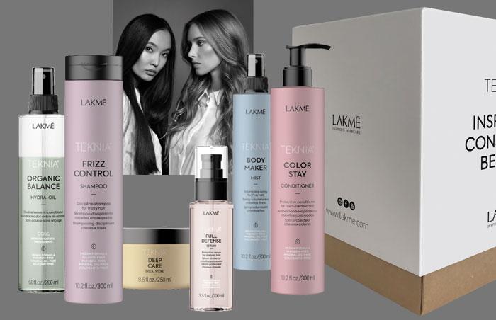 Beauty Market y LAKMÉ regalan 6 TEKNIA Premium Box, productos veganos para el cuidado del cabello